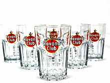 Original Havana Club Rum Gläser 6er Set ~mn 15