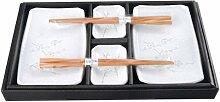 Original japanisches Sushi-Set HAKUBAI