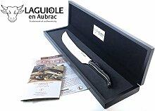 Original Laguiole en Aubrac ® Premium Champagnersäbel Büffelhorn massiv