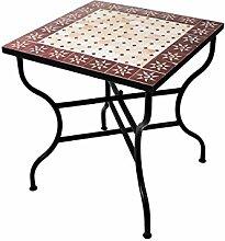 ORIGINAL Marokkanischer Mosaiktisch Gartentisch