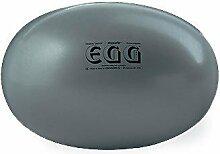 Original PEZZI Eggball MAXAFE 65 cm grau Sitzball Gymnastickball Pezziball Ball