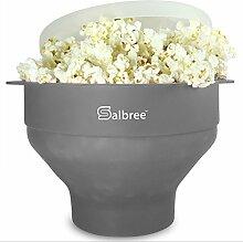 Original Salbree Popcorn-Maker für Mikrowelle,