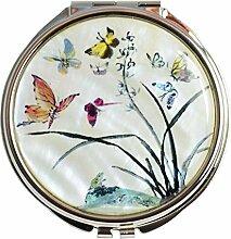 Original Taschenspiegel, Perlenhandwerk