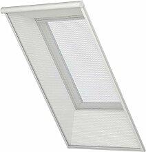 Original VELUX Insektenschutz Rollo ZIL M10 0000 für Lichte Dachauschnitte bis 76 x 240 cm mit Aluminium Führungsschienen und grauem Netzstoff