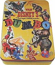 original Walt Disney Dose Vorratsdose Geschenkverpackung DUMBO BLECHDOSE gelb HMB