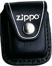 Original Zippo Leder Tasche in Schwarz *TOP