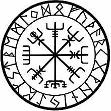 Originalität Kompass Rune Auto Styling Aufkleber