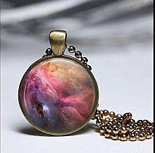 Orion Nebel Halskette, Orion Nebel Anhänger,
