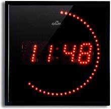 Orium 11003Wanduhr LED rot 28x 28x 4cm