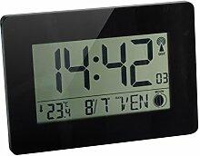 Orium 11094Wanduhr RC Digitale Austin Kunststoff schwarz 22,9x 2.7x 16.2cm