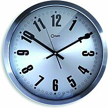 Orium 11674 Wanduhr Futura Edelstahl Durchmesser