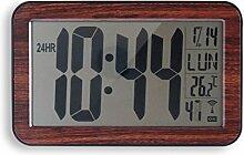 Orium 11729Wanduhr RC Digitale ABS Holzoptik