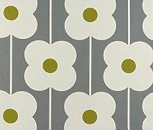 Orla Kiely Abacus Blumen Olive