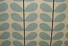 Orla Kiely Zwei Farbe Stem Powder Blue Designer