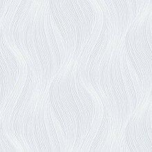 Orla Wave Glitter Tapete Weiß Muriva 153104