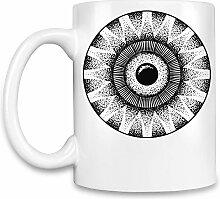 Ornament Kaffee Becher