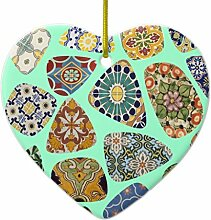 ORNAMENT Spanisch & Mexikanische Fliese Mosaik