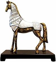 Ornamentesd Continental Retro Pferd Schmuck