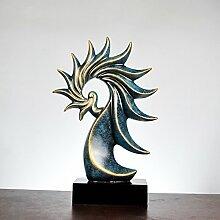Ornamentesd Kreative europäische Heimtextilien Schmuck Bürobedarf Großhandel Handwerk Ornamente Conch Harz