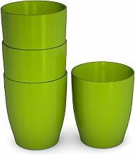 Ornamin Kinderbecher 120 ml grün, 4er-Set |