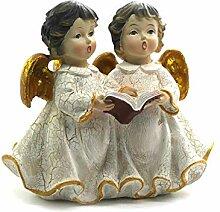 ORNARA Figurengruppe Barocke Engel klassisch Creme