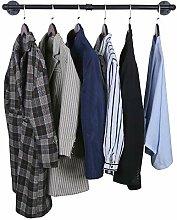 OROPY Industrielles Rohr-Kleidergestell an der