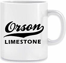 Orson Limestone Kaffeebecher Becher Tassen Ceramic