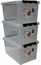 Orthex 34760703 3er Set Clipbox Smart Store