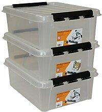 Orthex 34940703 3er Set Clipbox Smart Store