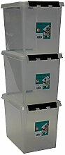 Orthex 3er Set Clipbox Smart Store Classic 11