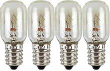 OSALADI 4 Stück LED Kühlschrank Glühbirne 220V