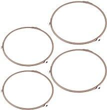 OSALADI 4Pcs Mikrowelle Plattenspieler Ring