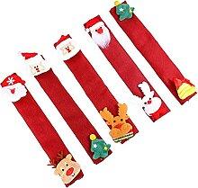 OSALADI 5Pcs Weihnachten Kühlschrank Griff Covers