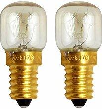 OSALADI Backofen Glühbirnen E14 25W Kleine