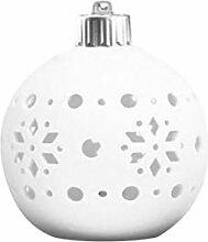 OSALADI LED Keramik Geschenk Lampe hohlen