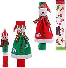 OSALADI Weihnachten Kühlschrank Griff Abdeckungen