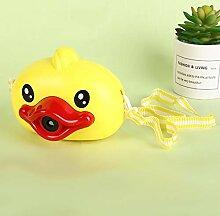 Osdfrlk Kinderspielzeug Kleine gelbe Ente Cartoon