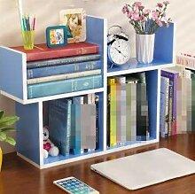 OSHA Desktop Kleines Bücherregal, Einfach Tabelle