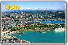 Oslo/fridge/magnet./fridge/magnet...!!! - Kühlschrankmagne