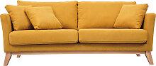 OSLO Skandinavisches 3-Sitzer-Sofa mit abnehmbarem
