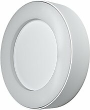 Osram Endura Style Ring LED Wand- Außenleuchte, Aluminiumkörper, 13 Watt, warmweiß, 3000K, weiß