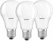 Osram LED Base Classic A Lampe, in Kolbenform mit