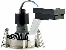 Osram LED-Einbaustrahler-Set rund Nickel