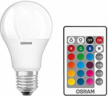 Osram LED Star+ Classic A RGBW Lampe, in