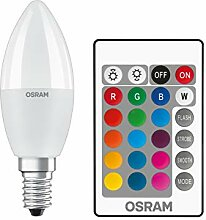 Osram LED Star+ Classic B RGBW Lampe, in