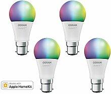 OSRAM SMART+ LED, Bluetooth Lampe mit B22d Sockel,
