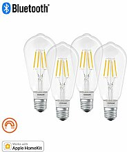 OSRAM SMART+ LED Filament Edison, Bluetooth Lampe