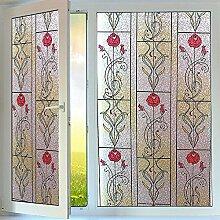OstepDecor statische 2D Fensterfolie Dekorfolie