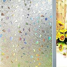 OstepDecor statische 3D Fensterfolie Dekorfolie