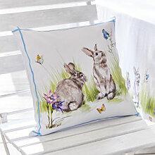 Osterkissen: Frühlingshaft festliche Dekoration